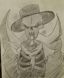 The Lich from Enter The Gungeon