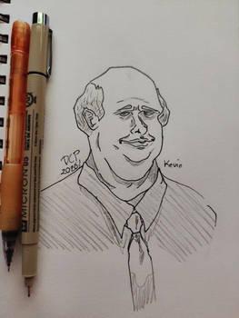 Kevin Malone - The Office (part of 6fanartschallen