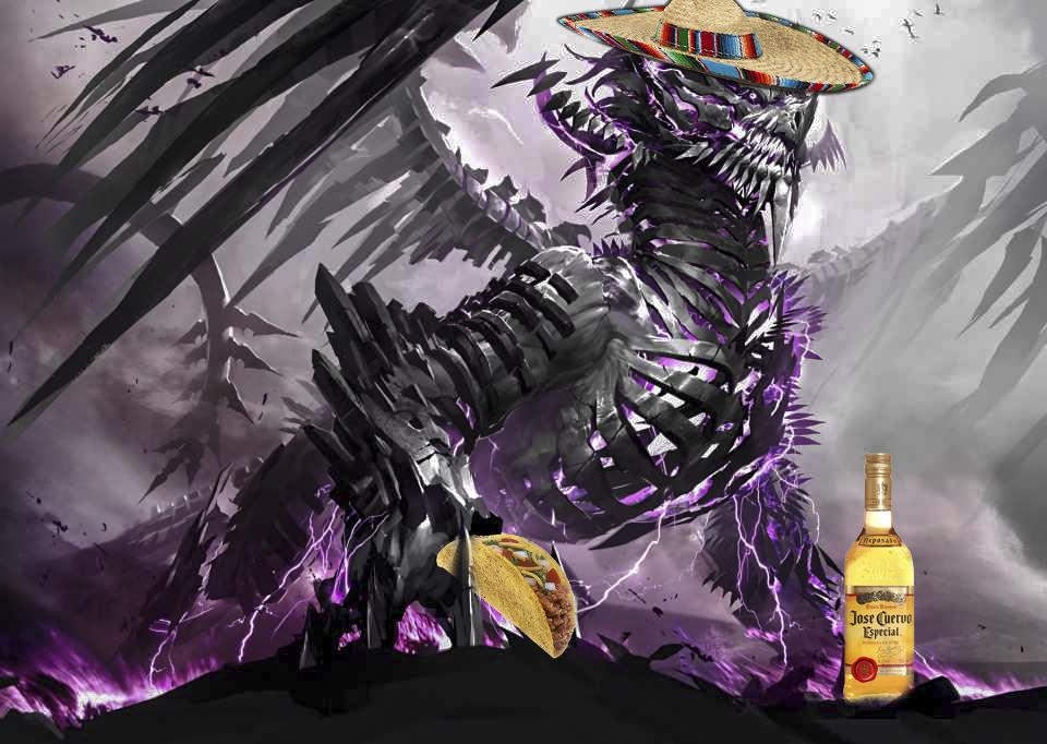 mexican dragon XD by zonnikku on DeviantArt