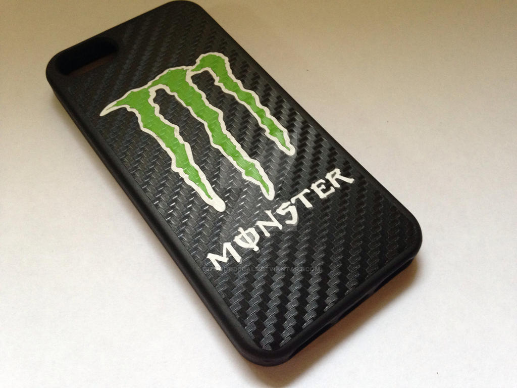 Energy Monster iPhone 5 case by GizmodnDecals on DeviantArt