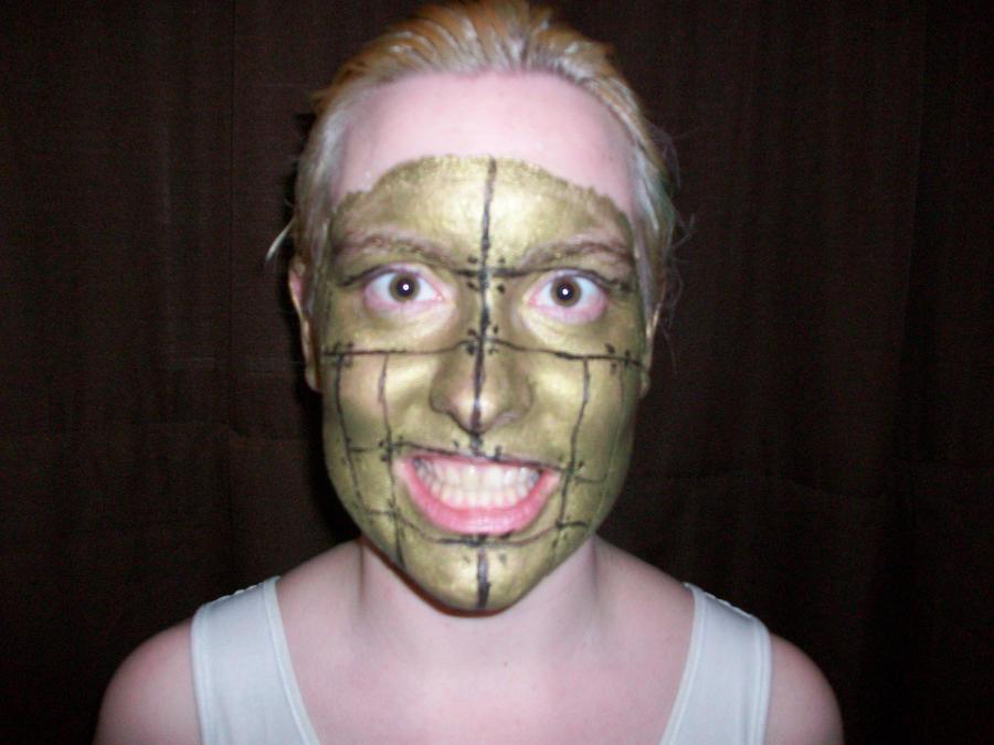 Cyborg Face Makeup Cyborg Makeup by Teena lt