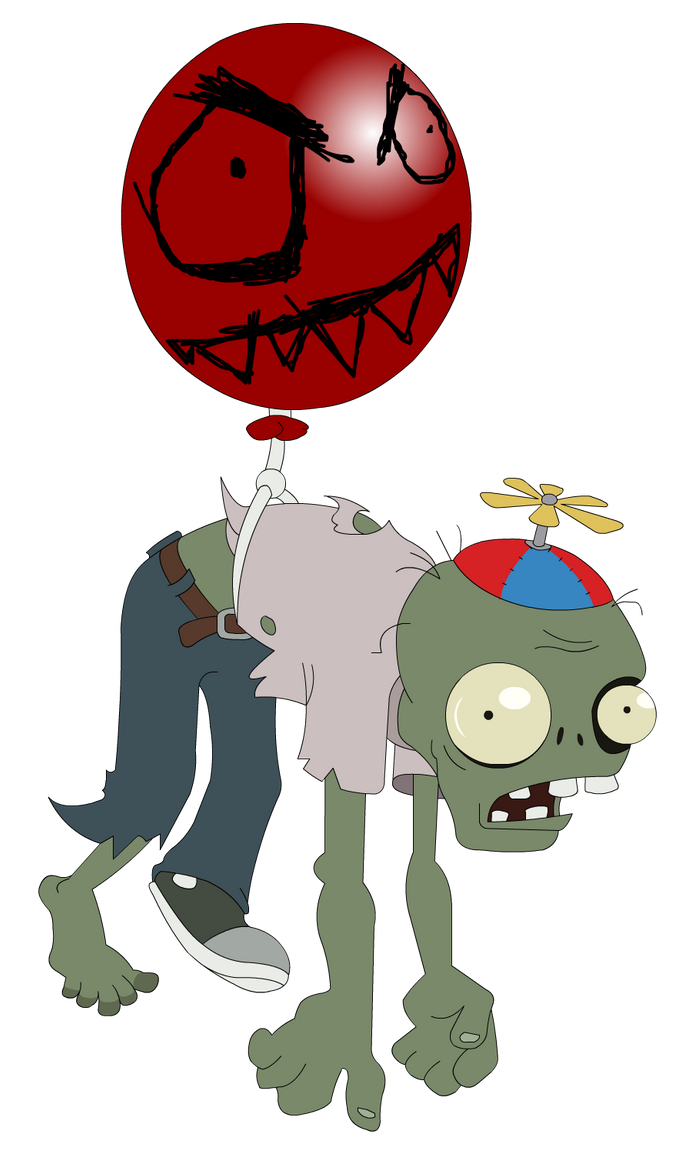 plants vs zombies balloon zombie by flash gavo