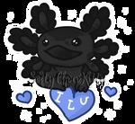 {G} Axolotl - Illusio! by SoftyChocoKitty