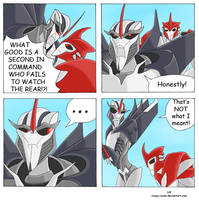 TFP - Watch the rear by Rosey-Raven