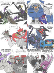 TF - Countdown to TFP season 2 crossovers 13-18 by Rosey-Raven