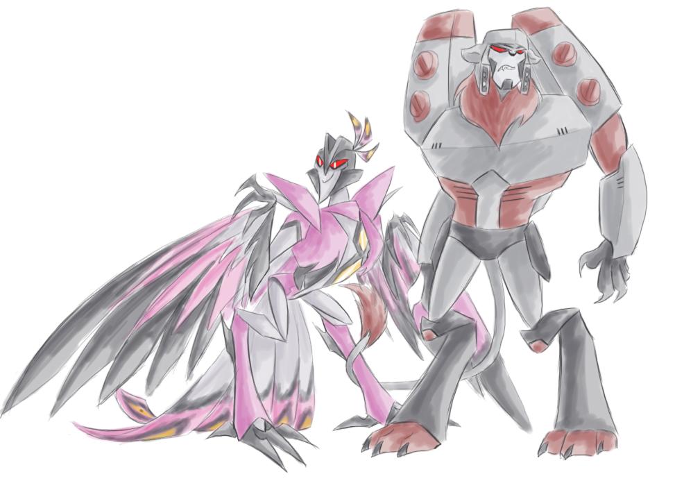 TFA - Monster MegaStar by Rosey-Raven
