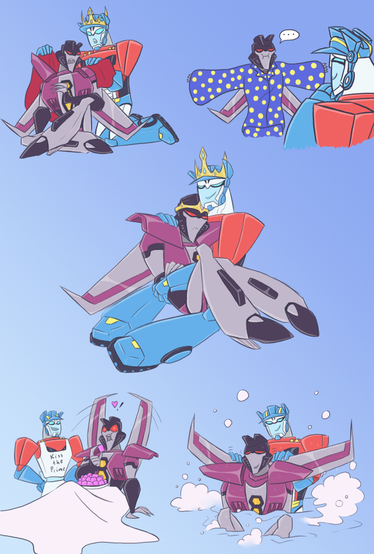 TFA - King Prime and his Star by Rosey-Raven