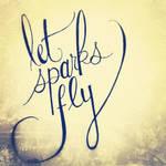 Let Sparks Fly Handlettering Practice