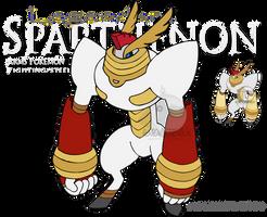 Pkmn Pantheon - Sparthenon by Prinny-Dood