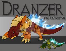 Fake Pokemon - Dranzer by Prinny-Dood