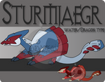 Fake Pokemon - Sturmjaegr by Prinny-Dood