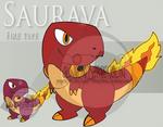 Fake Pokemon - Saurava