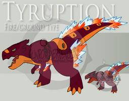 Fake Pokemon - Tyruption