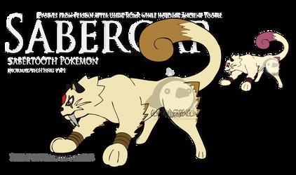 Fake Pokemon - Saberoar by Prinny-Dood