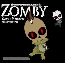 Fake Pokemon - Zomby by Prinny-Dood