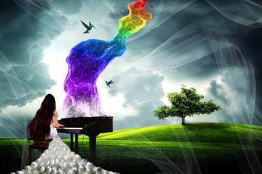 The Rainbow Pianist