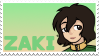 A2 (Ka)ZAKI stamp by YukariYakumo