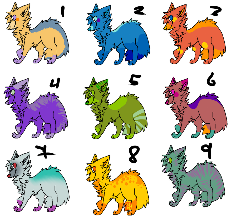 Adoptables 6 TEN POINTS ONLY by deviladoptable