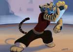 Tigress from Kung Fu Panda