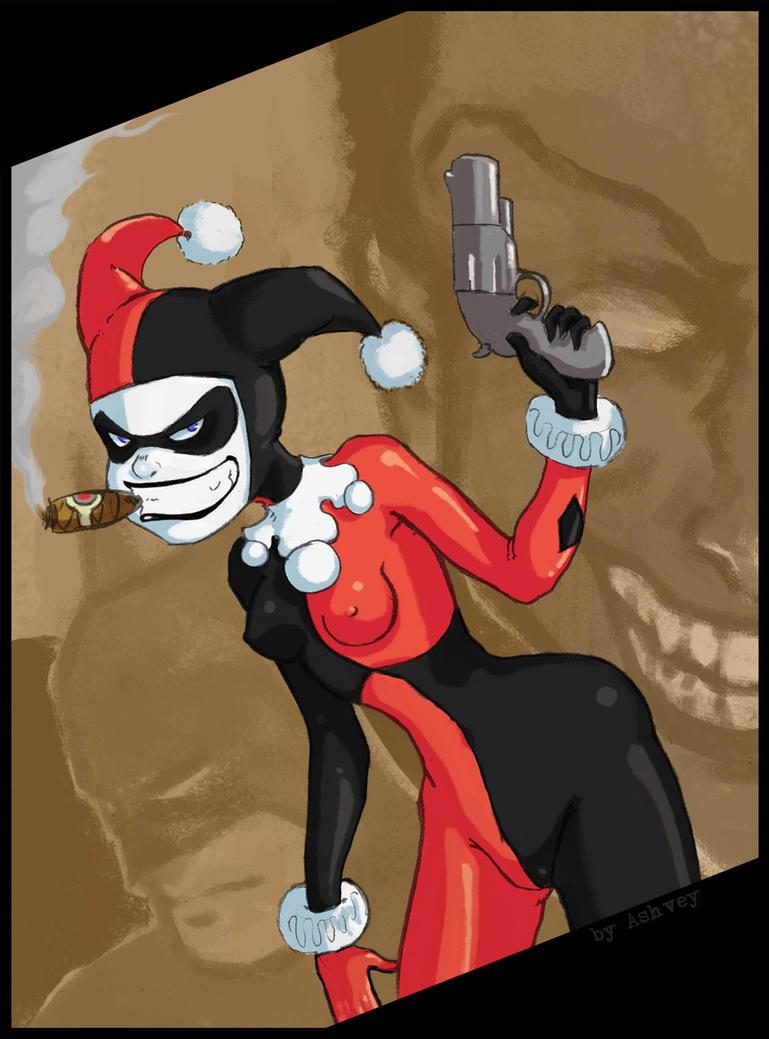 Harley Quinn by ashvey