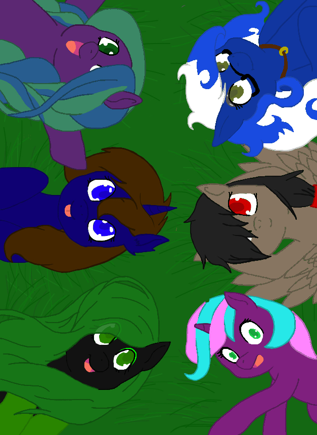 OC MLP Group Daytime by sonicgfriendKat