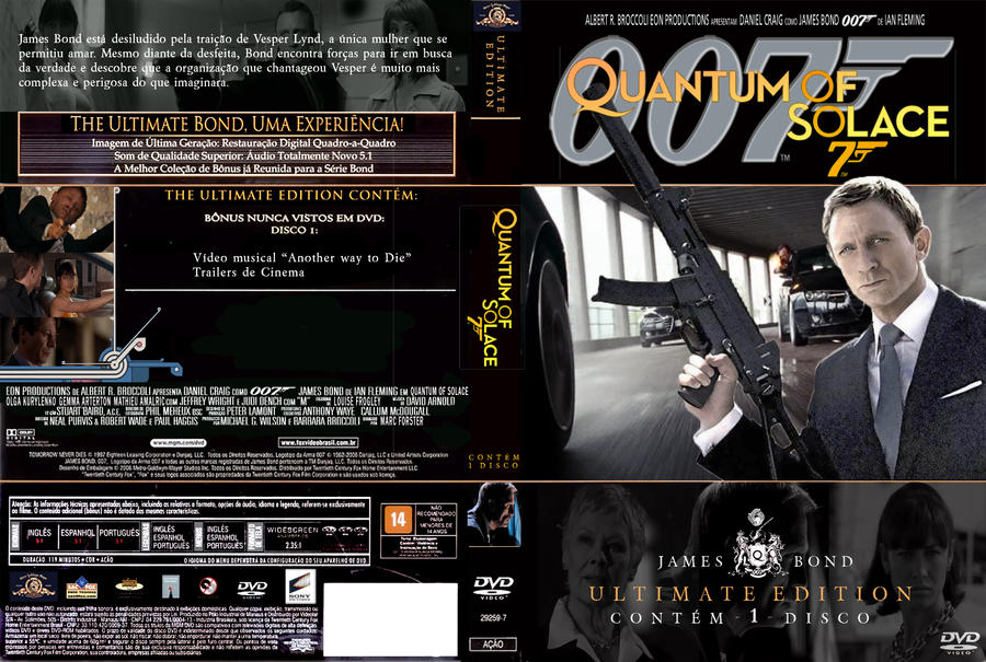 Quantum of Solac  Quantum Of Solace Cover