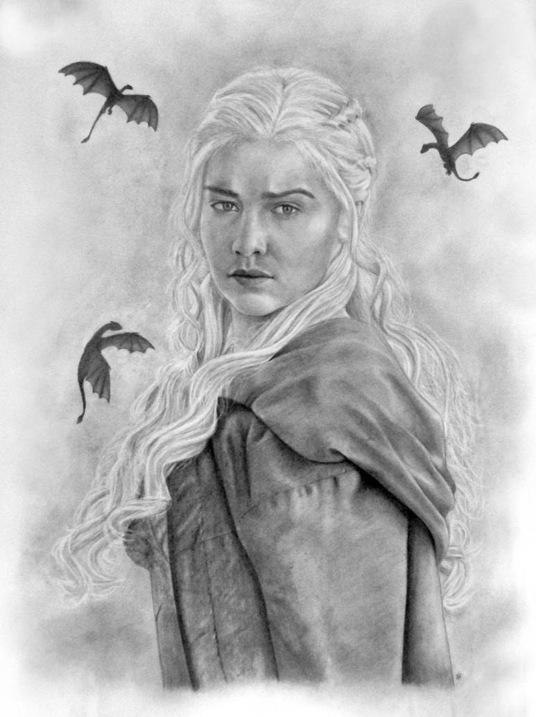 Daenerys Targaryen by Sofera