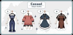 [Adopt Auction] Casual #1 - CLOSE -