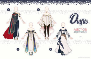 [Outfits Auction] Fantasy Outfits 17 - CLOSE - by QuinnyIlada