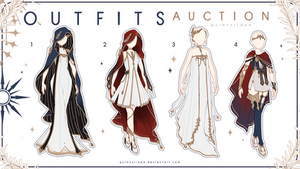 [Adopt Auction] Fantasy Outfits 25 [ CLOSE ] by QuinnyIlada