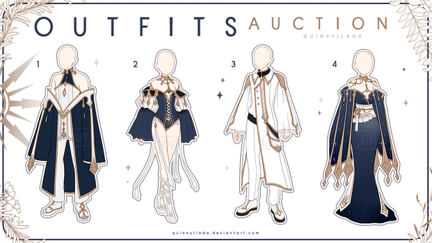 [Adopt Auction] Fantasy Outfits 27 [ CLOSE ]