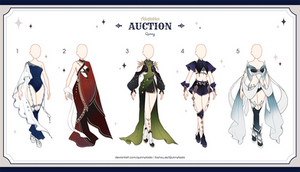 [Adopt Auction] Fantasy Outfits 35 [ CLOSE ]
