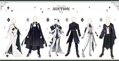 [Adopt Auction] Fantasy Outfits 39 [ CLOSE ] by QuinnyIlada