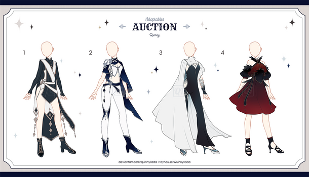 [Adopt Auction] Fantasy Outfits 43 [ CLOSE ]