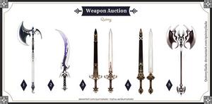 [Weapon Set Price] Weapon batch #7 [CLOSE]