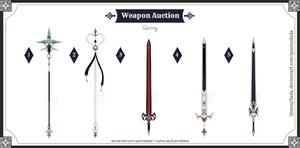 [Weapon Auction] Weapon batch #9 [CLOSE]