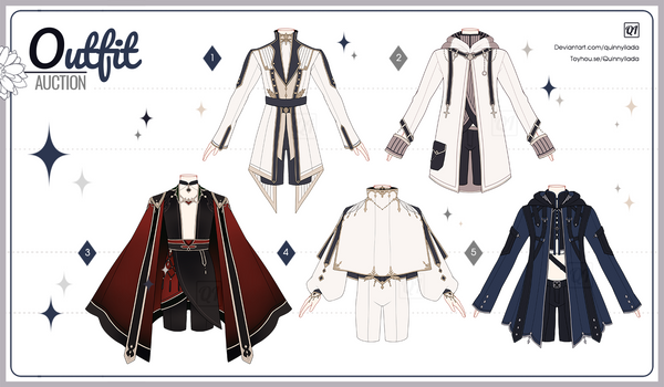 [Adopt Auction] Fantasy Outfits 49 [ CLOSE ]