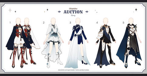 [Adopt Auction] Fantasy Outfits 53 [ CLOSE ]