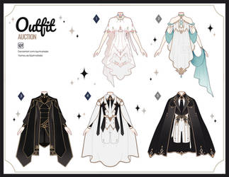 [Adopt Auction] Fantasy Outfits 54 [ OPEN ] by QuinnyIlada