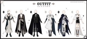 [Adopt Auction] Fantasy Outfits 55 [ CLOSE ]