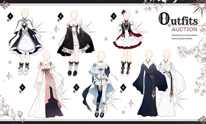 [Adopt Auction] Fantasy Outfits 61 [ CLOSE ]