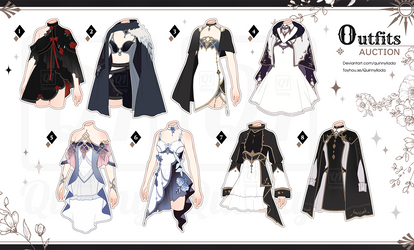 [Adopt Auction] Outfits 67 [ CLOSE ]