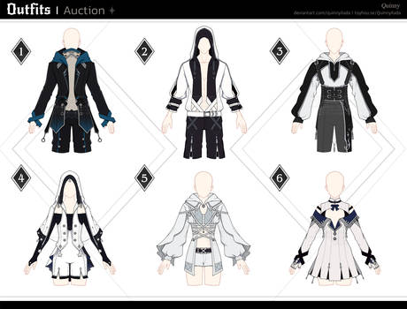 [Adopt Auction] Outfits 117 [OPEN]