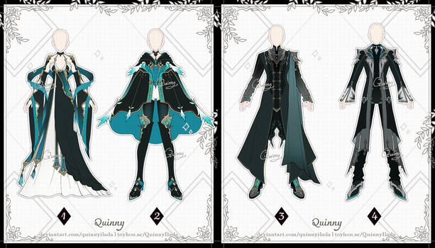 [Adopt Auction] Outfits 123 [CLOSE]