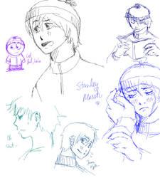 Stan paint doodles by MICHELANGELO12