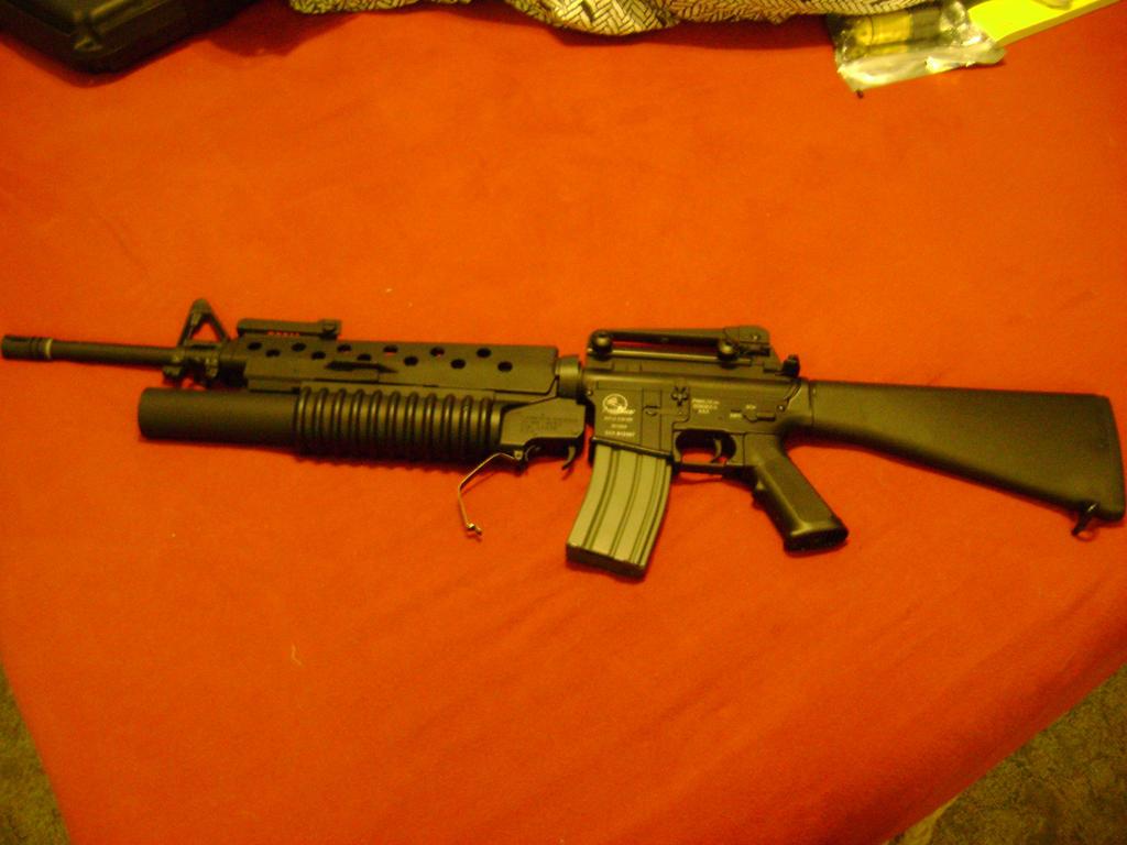 M16A4 + M203 by Kookam...