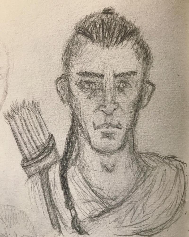 Icarium Sketch by Kovecs