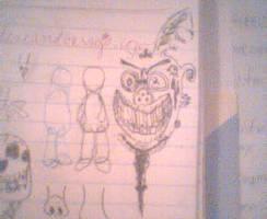 Goblin Guy Sketch - LowRez
