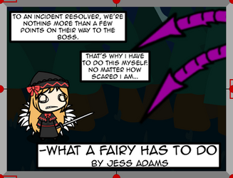 What a Fairy has to Do poster by StubbornVirus