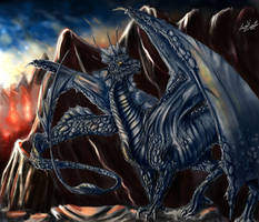Saphrine Dragoness by PolarHamster